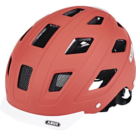 ABUS Hyban Casco, marsala red
